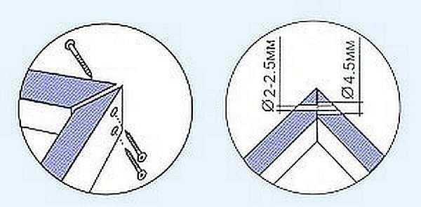 Как крепиться дверной короб между собой