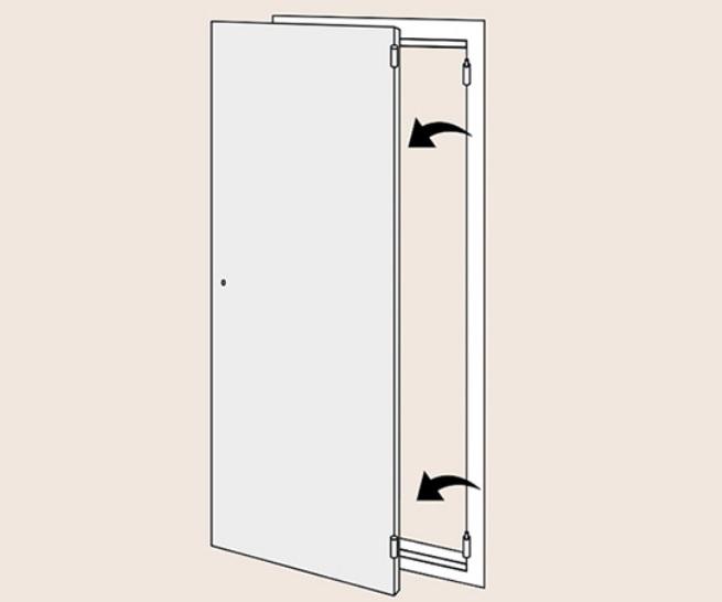 Демонтаж старой входной двери