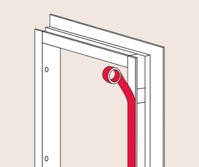 Короб входной двери
