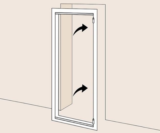 Ставим короб в дверной проём