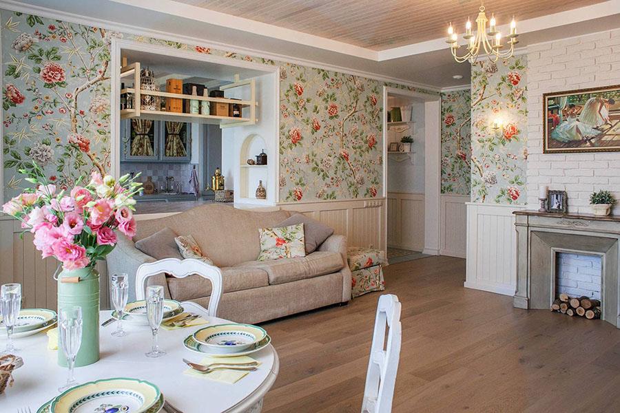 Прованс — романтичное направления дизайна интерьеров