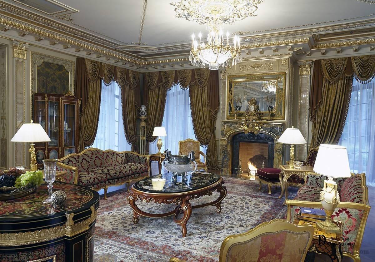Исторический интерьерный стиль, завершает развитие классицизма