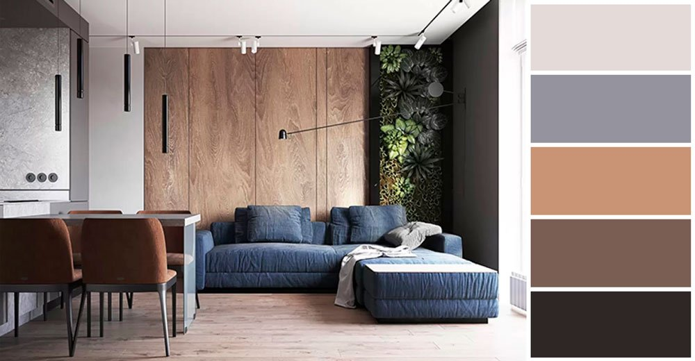 Проект в стиле Минимализм в жилом комплексе Французский квартал