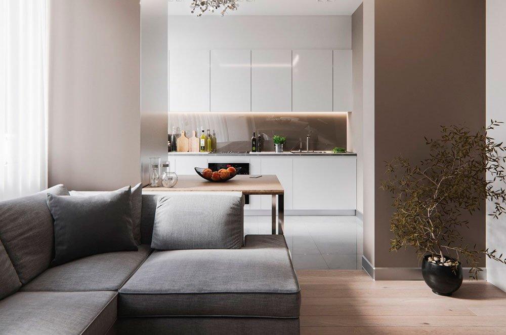Лаконичный дизайн, идеально подходящий для современных городских квартир