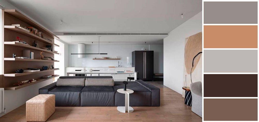 Дизайн квартиры в стиле Минимализм