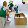 Стол-Трансформер Desk Дуб Сонома