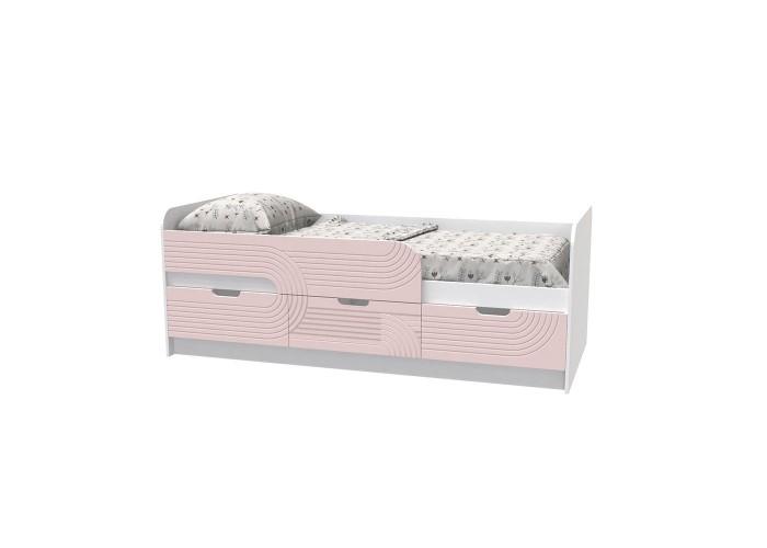 Кровать детская - Binky KEC10A Аляска / Розовый  1