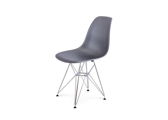 Стул Eames DSR Chair (серебро)  1