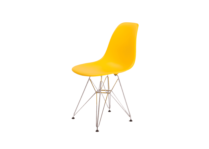 Стул Eames DSR Chair (желтый)  1