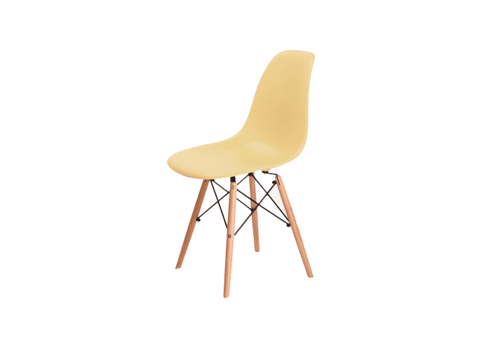 Стул Eames DSW Chair (кремовый)  1