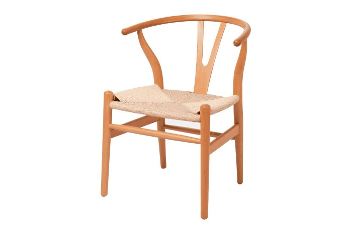 Стул Wishbone Chair (натуральный)  1