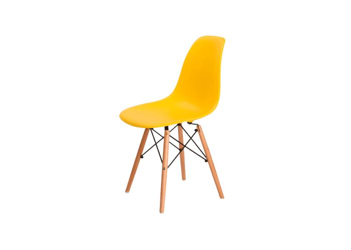 Стул Eames DSW Chair (желтый)  1