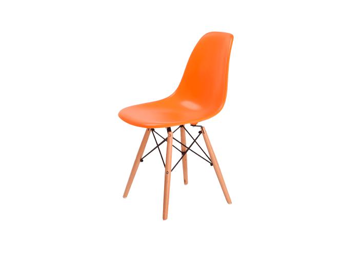 Стул Eames DSW Chair (оранжевый)  1