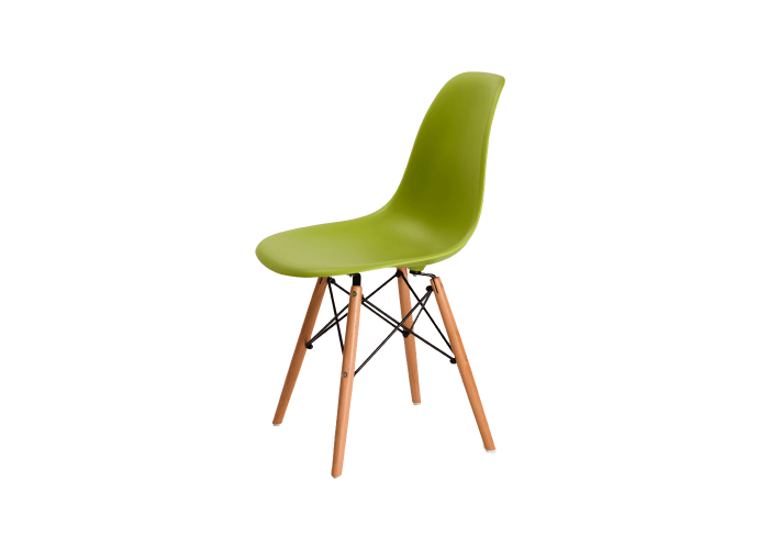 Стул Eames DSW Chair (зеленый)  1