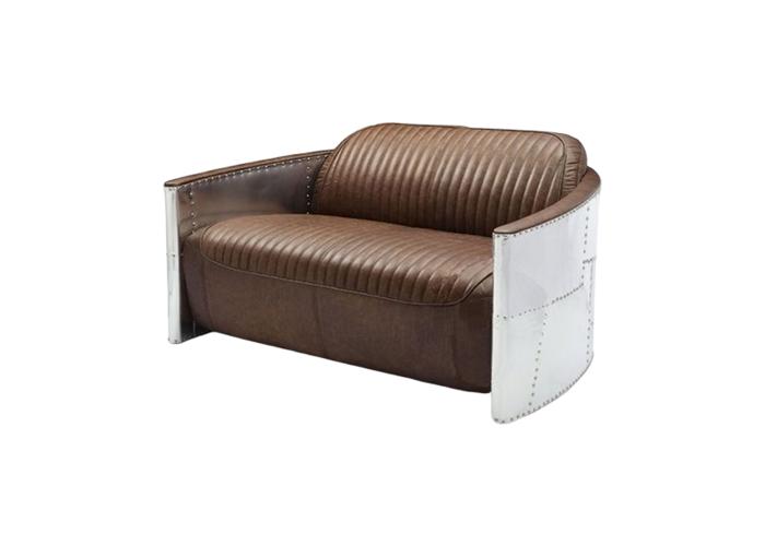 Диван Tom Cat Aviator Sofa (коричневый)  1