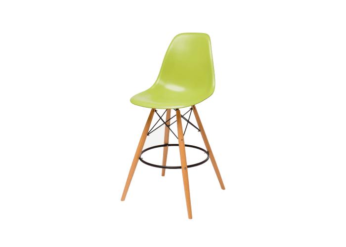 Барный стул Eames Bar Chair (зеленый)  1