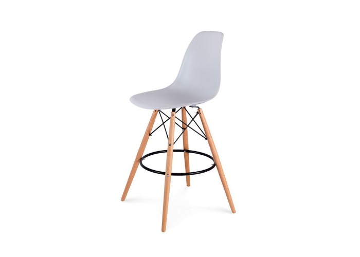 Барный стул Eames Bar Chair (серый)  1