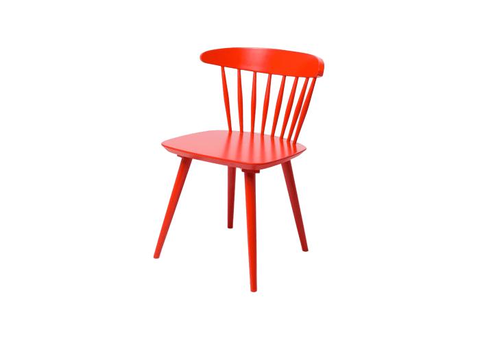 Стул J104 Chair (красный)  1