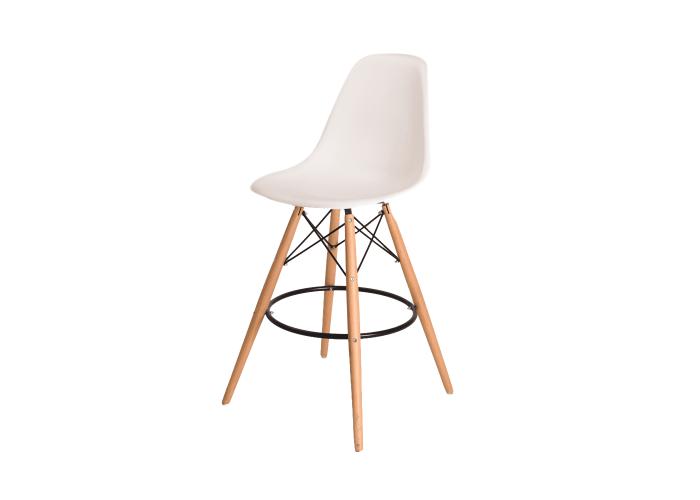 Барный стул Eames Bar Chair (белый)  1