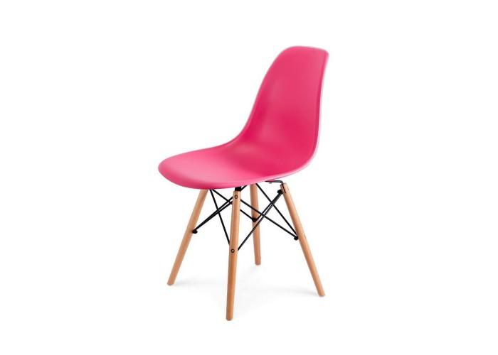 Стул Eames DSW Chair (розовый)  1