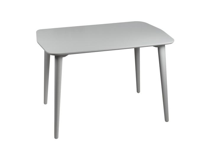 Стол Dan 75*110 серый шелк  2