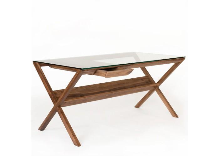 Стол письменый Vintage - мод. Glass  1