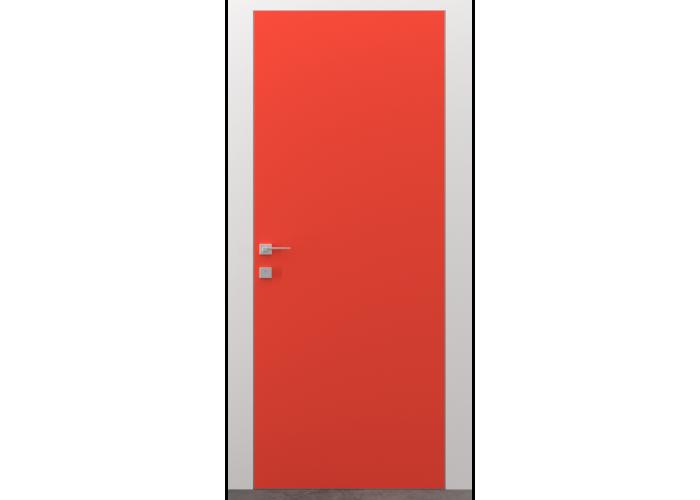 Invisible line коллекция дверей на скрытом коробе – покраска по RAL  1