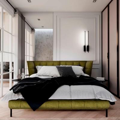 Спальня с дизайн-проекта Елены Курник