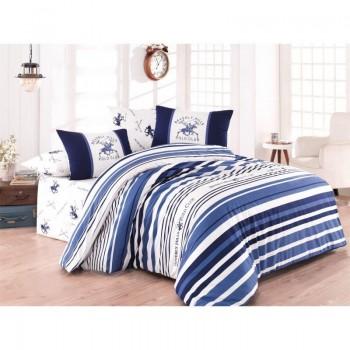 Комплект постельного белья Beverly Hills Polo Club - BHPC 029 Blue евро