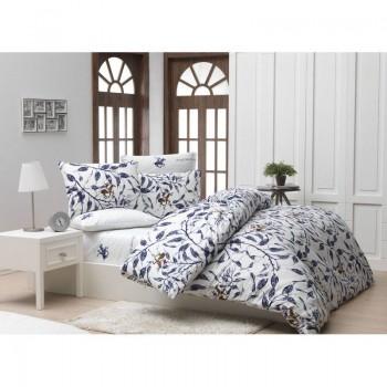 Комплект постельного белья Beverly Hills Polo Club - BHPC 005 Blue полуторный