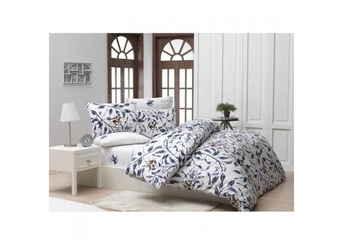 Комплект постельного белья Beverly Hills Polo Club - BHPC 005 Blue полуторный  1