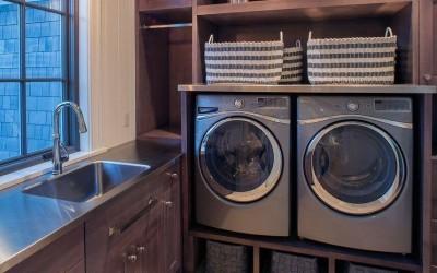 8 идей как гармонично интегрировать стиральную машинку в интерьер