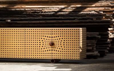 Презентация новой коллекция мебели Op-art от украинского дизайнера Юрия Зименко