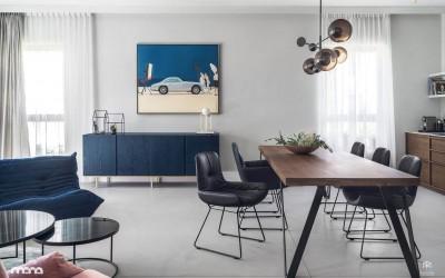 Проект Apartament//W от студии ManaDesign: секреты гармоничного смешения стилей