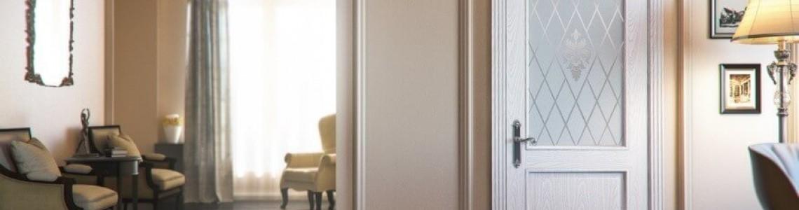 Белые двери, какой цвет пола?