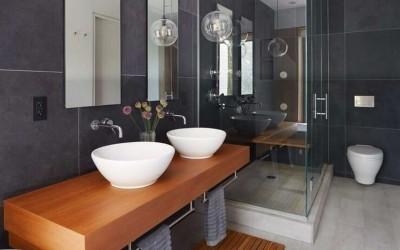 Незыблемая классика: идеи чёрно-белой ванной комнаты