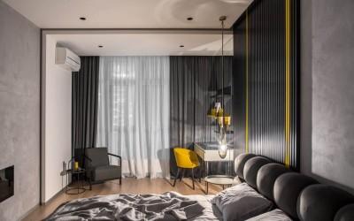 Квартира UI009 от украинского дизайнера Динары Юсуповой: изящество и функциональность в одном пространстве