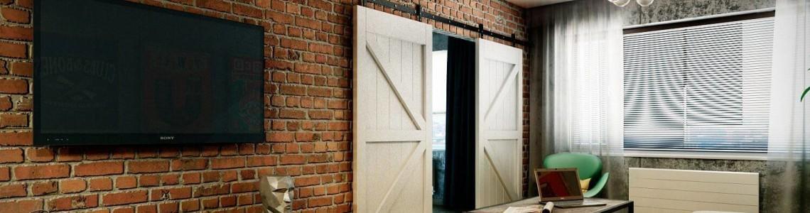 Как выбрать: двери для интерьера в стиле лофт?