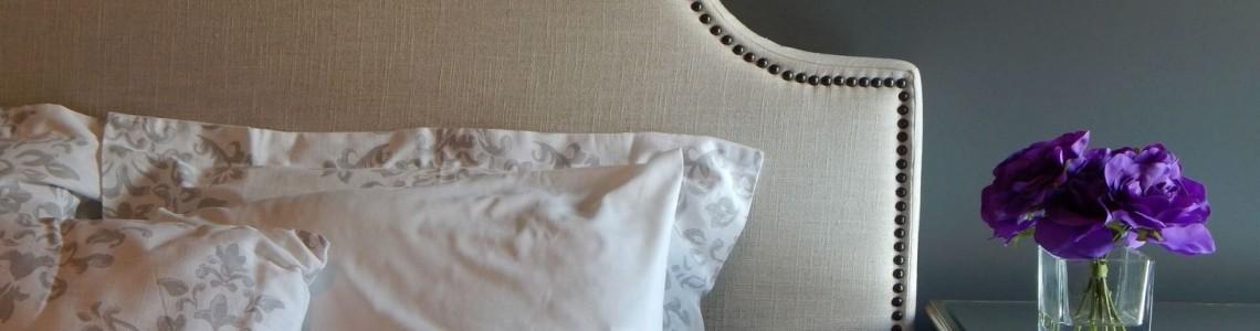 Новый дизайнерский тренд: кровать с мягким изголовьем