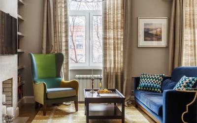 Минимум пространства, максимум стиля: идеи для идеальной гостиной