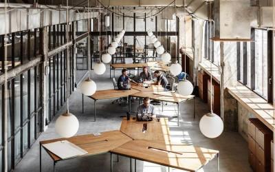Завод «Промприлад» в Ивано-Франковске и превратили в современное арт-пространство