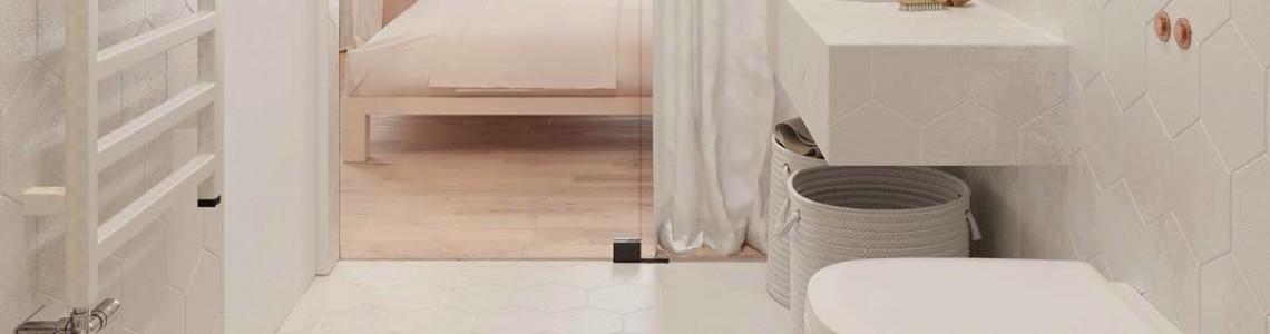 Как расширить пространство небольшой ванной комнаты