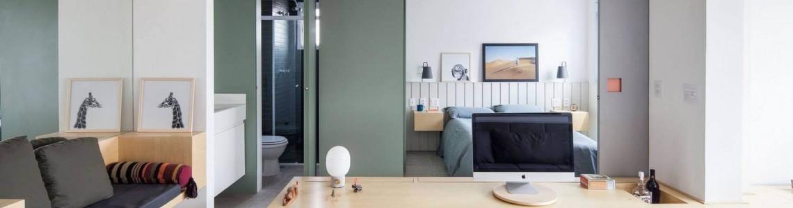 Смарт-квартира с минималистичным интерьером. Как выжать максимум.
