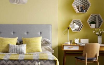 Цвет настроения солнечный: интерьеры спален в желтом цвете