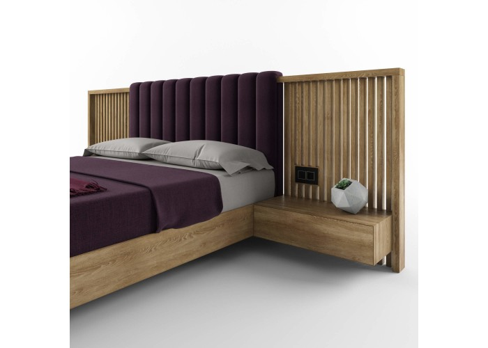 Двуспальная кровать – HBM-art – мод. Graf  4