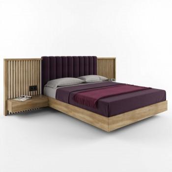 Двуспальная кровать – HBM-art – мод. Graf