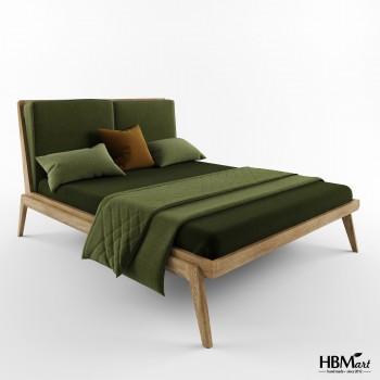 Двуспальная кровать – HBM-art – мод. No. 7