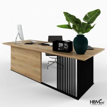Рабочий стол – HBM-art – мод. Graf Office Black