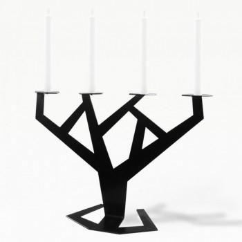 Подсвечник Tree черный