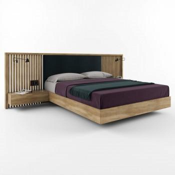 Двуспальная кровать – HBM-art – мод. Avtograff